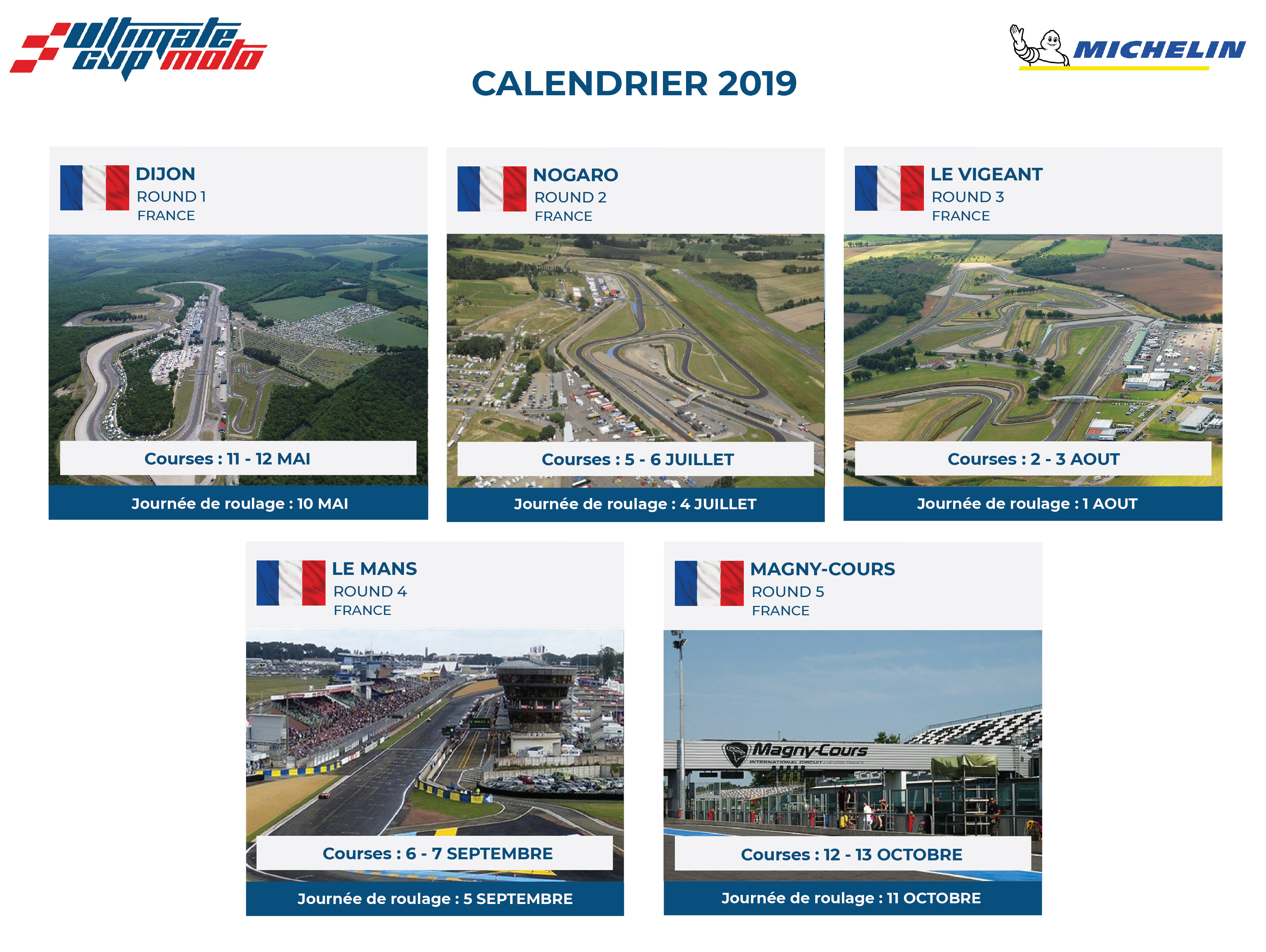 Calendrier Des Courses 2019.Calendrier 2019 Ultimate Cup