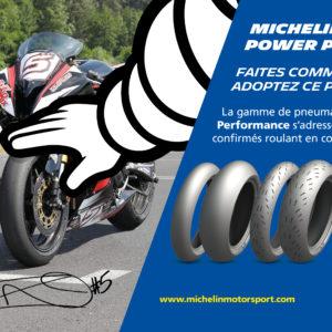 En 2019, roulez avec le Michelin Power Performance !